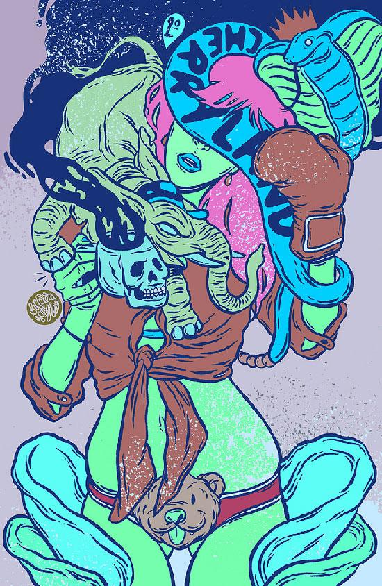 art blog - Bicicleta Sem Frio - empty kingdom
