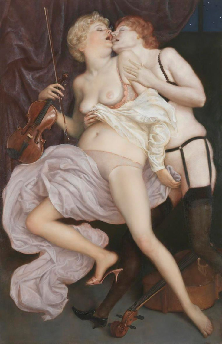 art blog - John Currin - empty kingdom