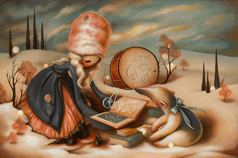 art blog - Brandi Milne - empty kingdom