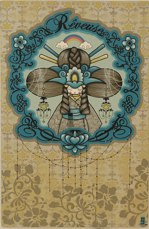 art blog - Koralie - empty kingdom