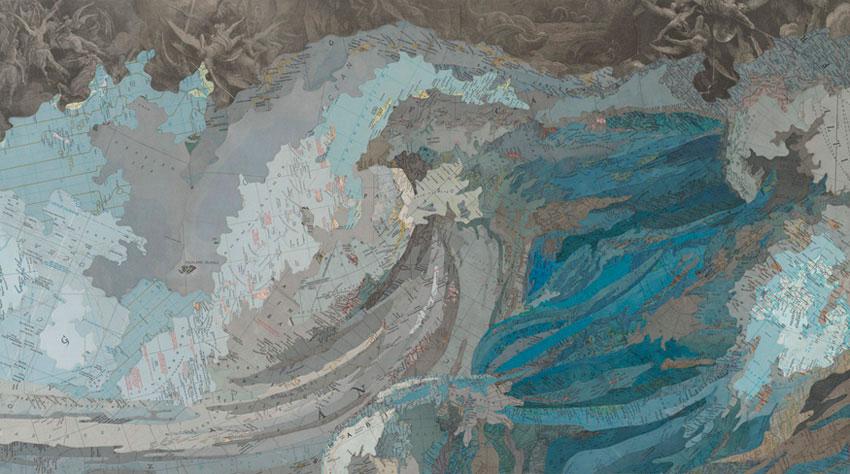 Art Blog - Matthew Cusick - Empty Kingdom
