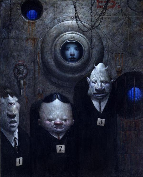 artblog - Bill Carman - empty kingdom