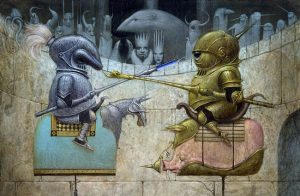artblog - Bill Carman - empty kingdom