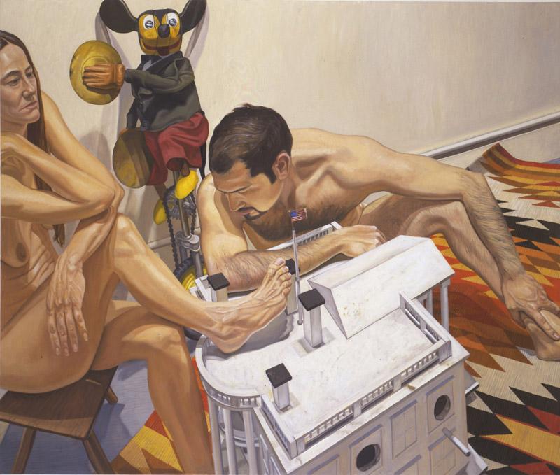 art blog - Philip Pearlstein - empty kingdom