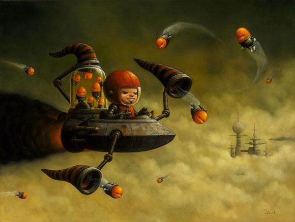 art blog - Bob Dob - empty kingdom