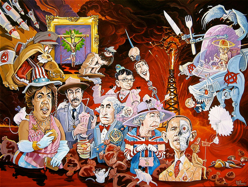 art blog - David MacDowell - empty kingdom