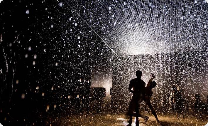Art Blog - Rain Room - Empty Kingdom