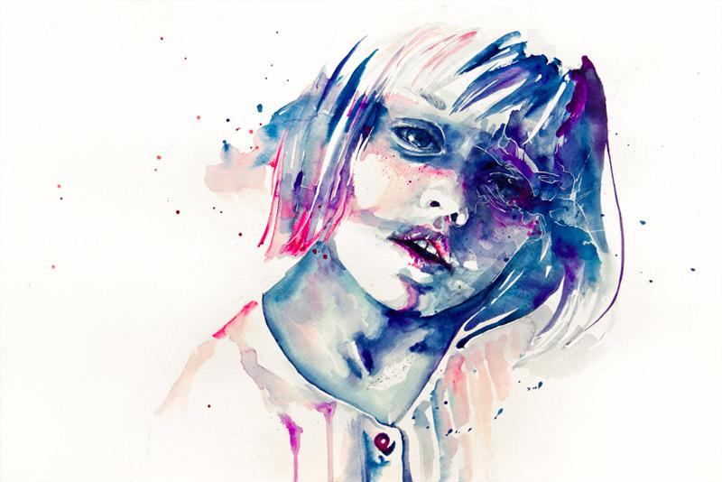 art blog - Agnes Cecile - empty kingdom