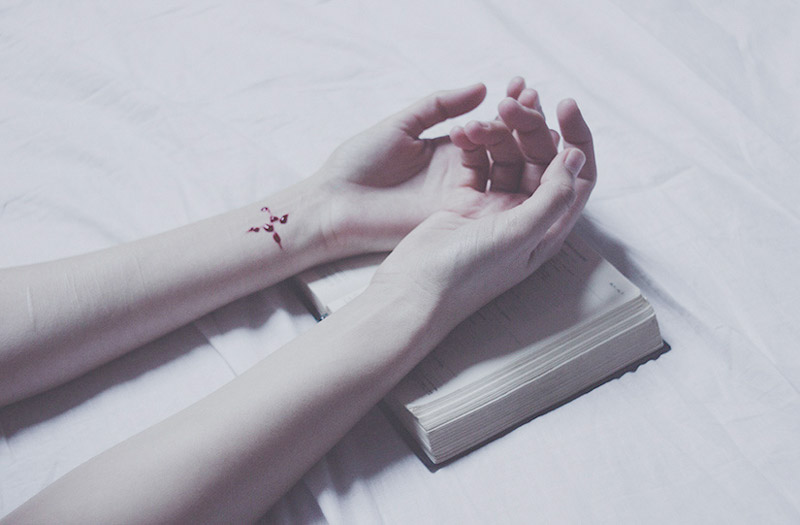 art blog - Laura Makabresku - empty kingdom