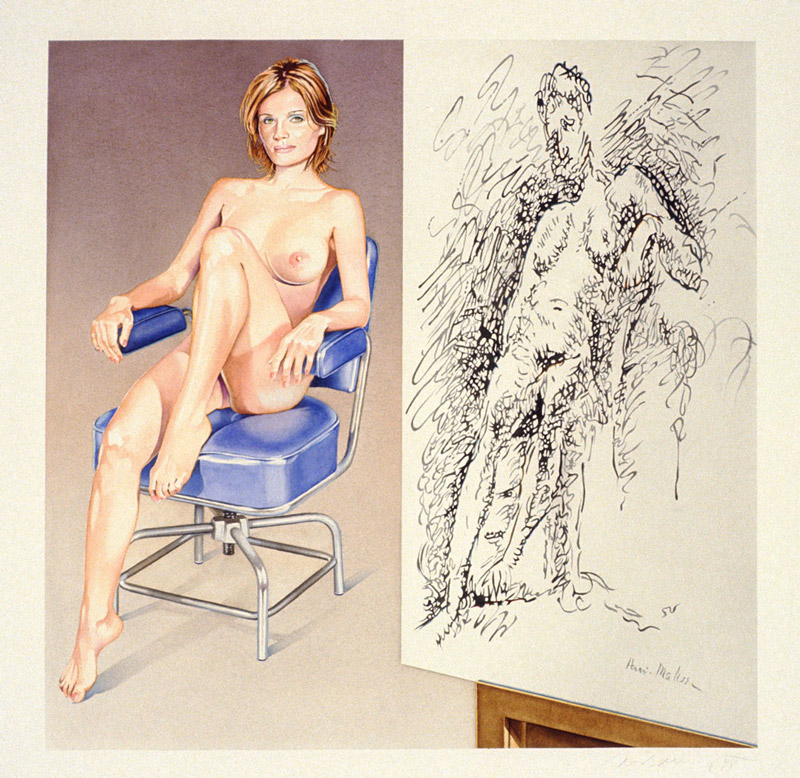 art blog - Mel Ramos - empty kingdom
