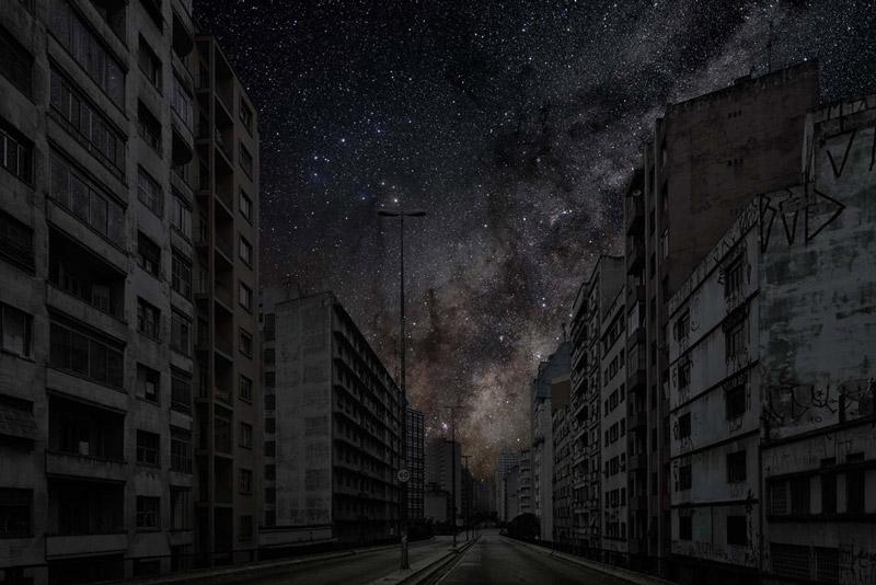 art blog - Thierry Cohen - empty kingdom
