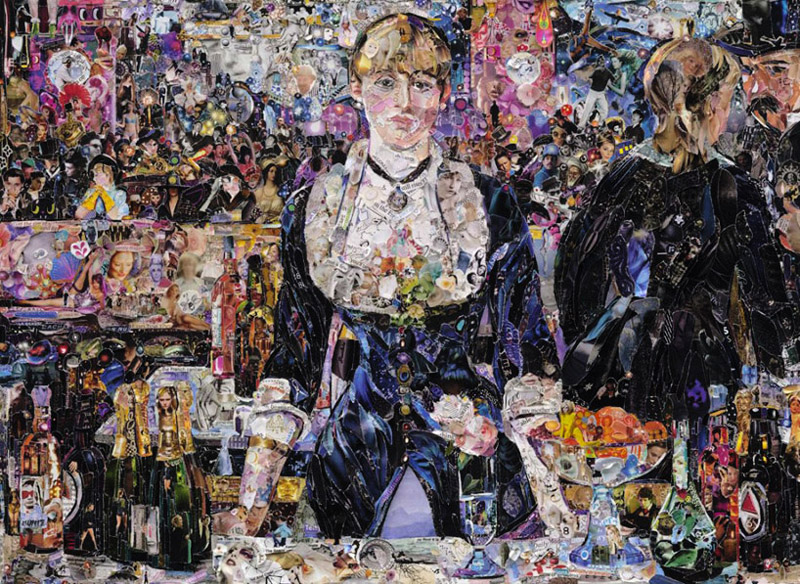 art blog - Vik Muniz - empty kingdom
