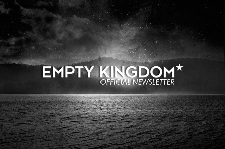 art blog, EK Newsletter, empty kingdom
