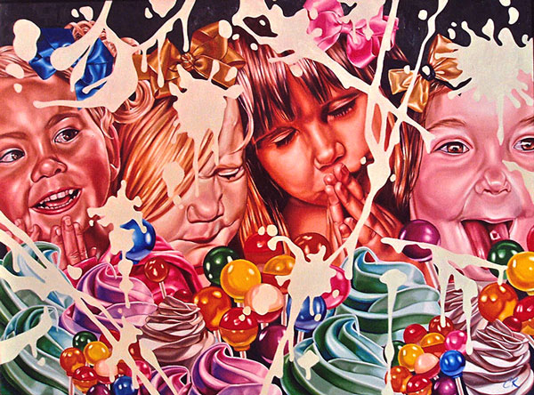 Celeste Rapone - painting - 2013