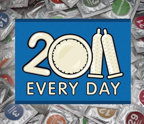 CONDOMS CALENDAR EVERY DAY 2011