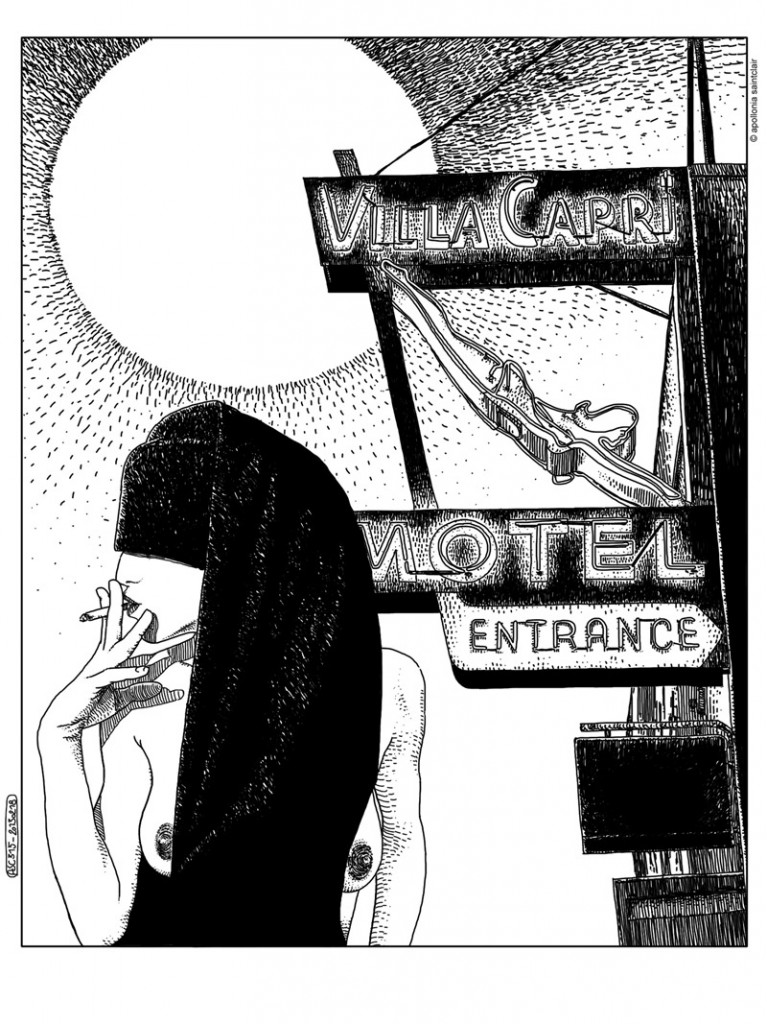 art blog - Apollonia Saintclair - empty kingdom