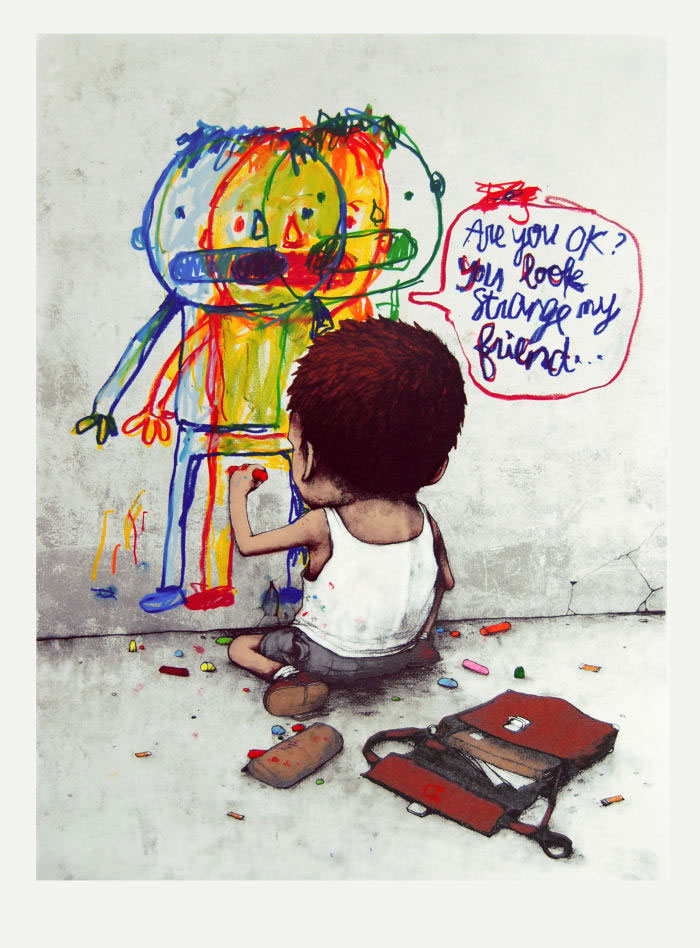 art blog - DRAN - empty kingdom