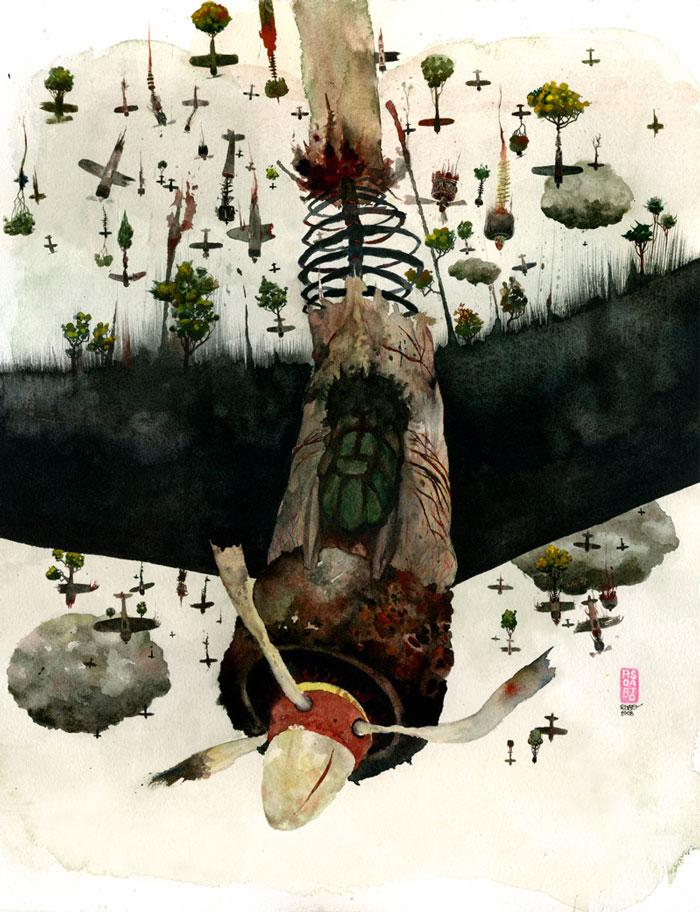 Art Blog - Rob Sato - empty kingdom