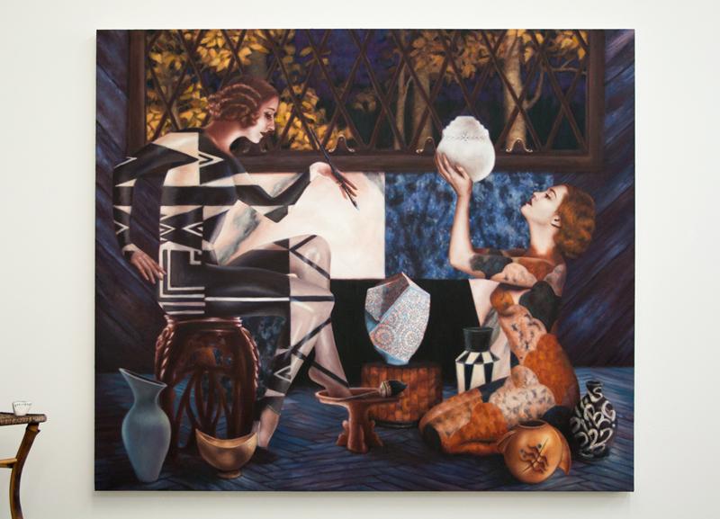 art blog - Alison Blickle - empty kingdom