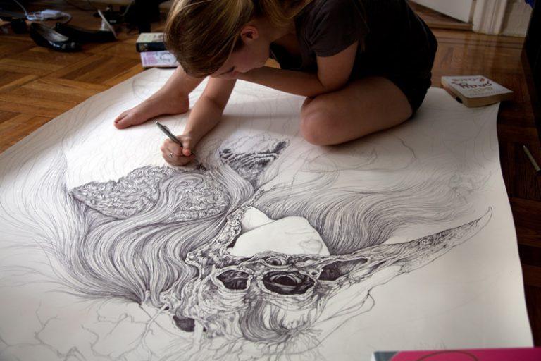 art blog - Caitlin Hackett - empty kingdom