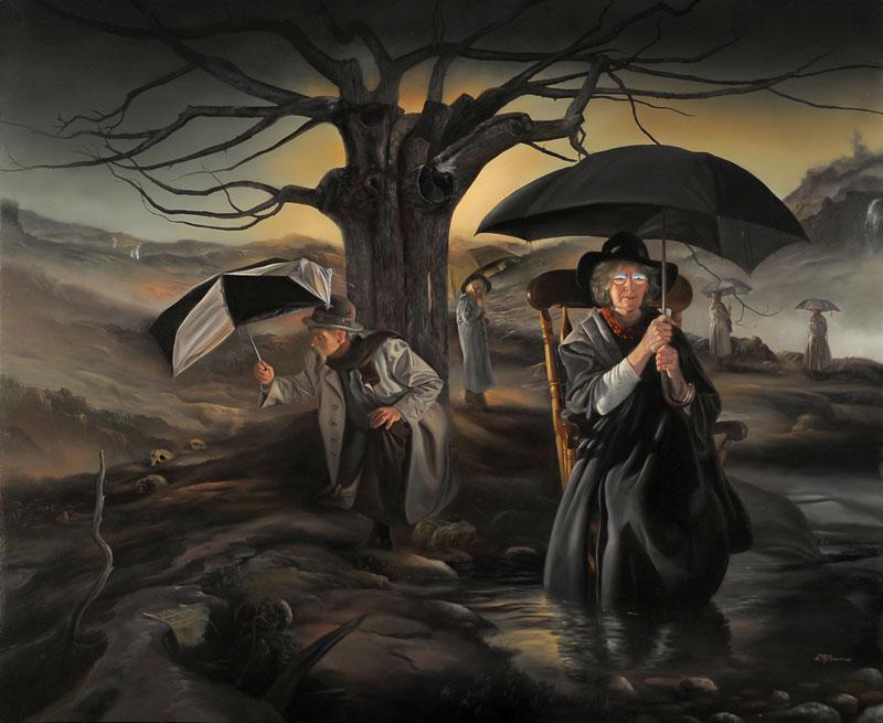 Art blog - David Michael Bowers - Empty Kingdom