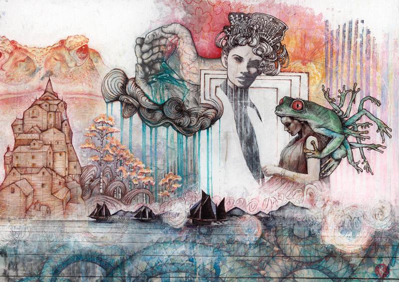 art blog - Jess & Keegan - empty kingdom