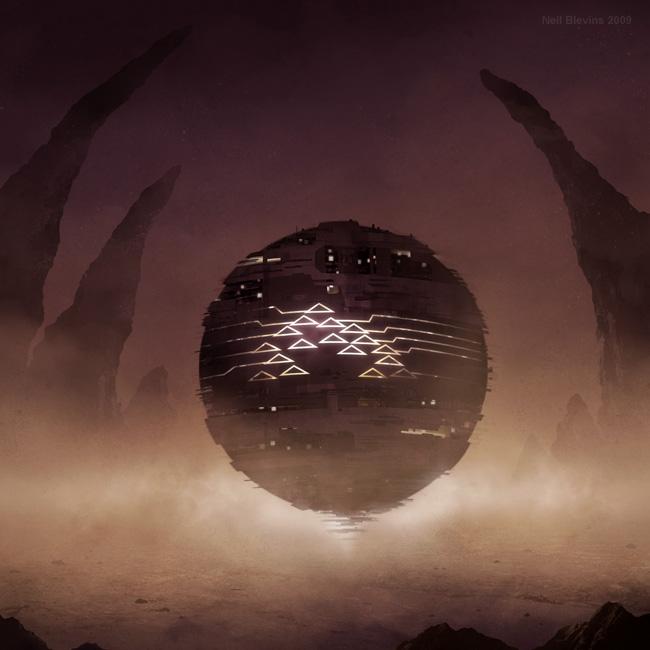 art blog - Neil Blevins - Empty Kingdom