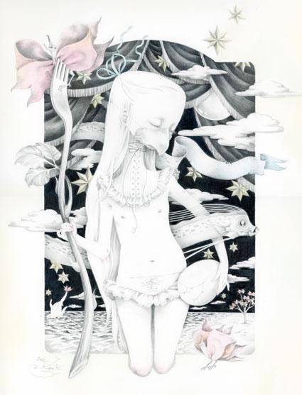 Kuroki Kozue - Empty Kingdom - Art Blog