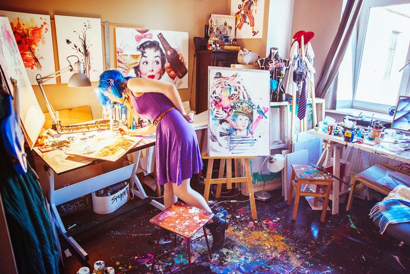 art blog - Lora Zombie - empty kingdom