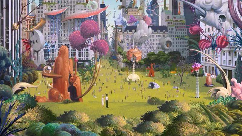 Art Blog - Ari Folman - Empty Kingdom