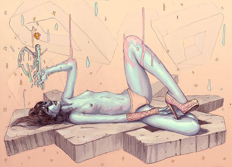 art blog - Josan Gonzalez - empty kingdom