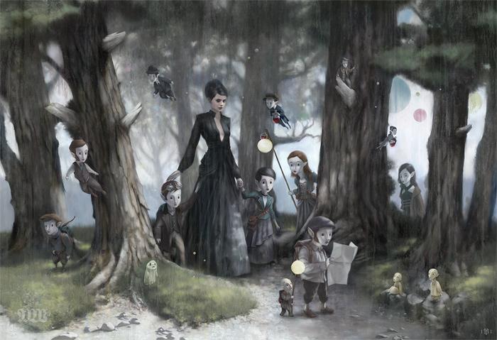 Tom Bagshaw - Empty Kingdom - Art Blog