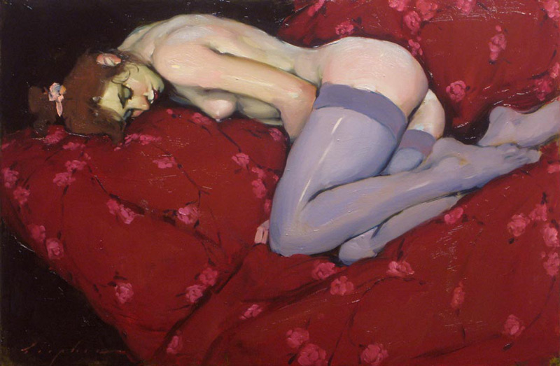 art blog - Malcolm Liepke - empty kingdom