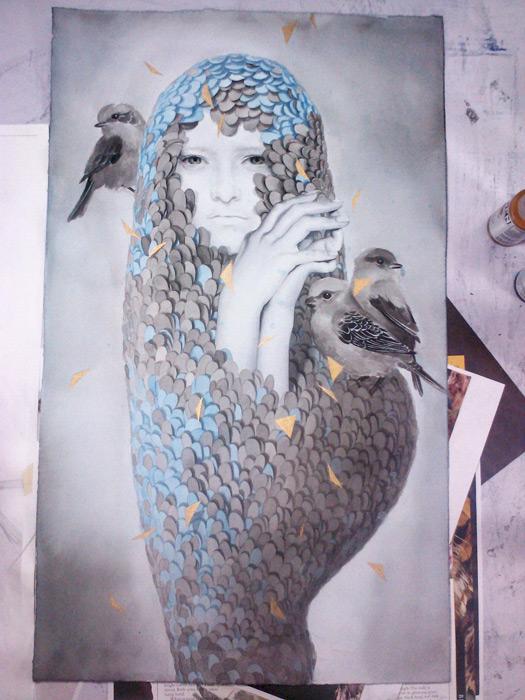 art blog - Tran Nguyen - empty kingdom