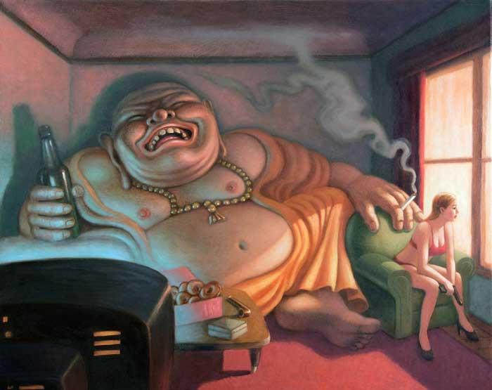 art blog - Mark Bryan - empty kingdom