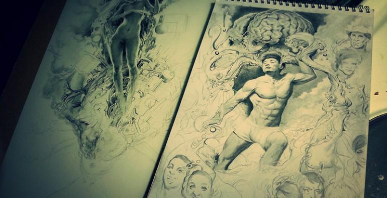 art blog - Miles Johnston - empty kingdom