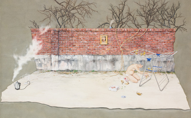art blog - Lee Jin Ju - empty kingdom