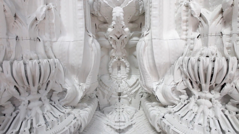 art blog - Michael Hansmeyer - empty kingdom