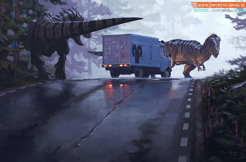 art blog - Simon Stålenhag - empty kingdom