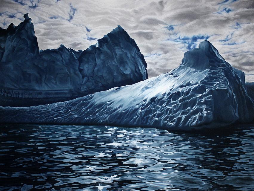 Zaria Forman - Empty Kingdom - Art Blog
