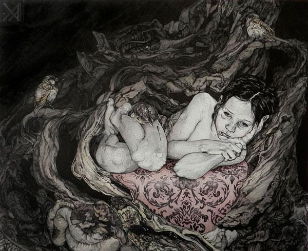 art blog - Kikyz1313 - empty kingdom