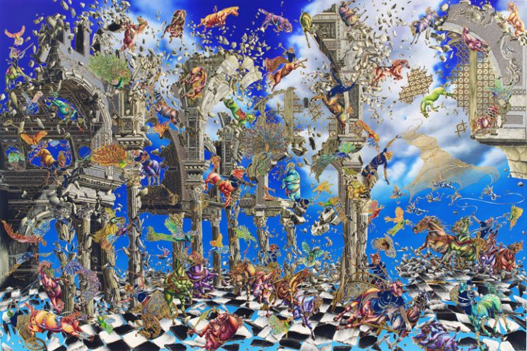 Raqib Shaw - Empty Kingdom - Art Blog