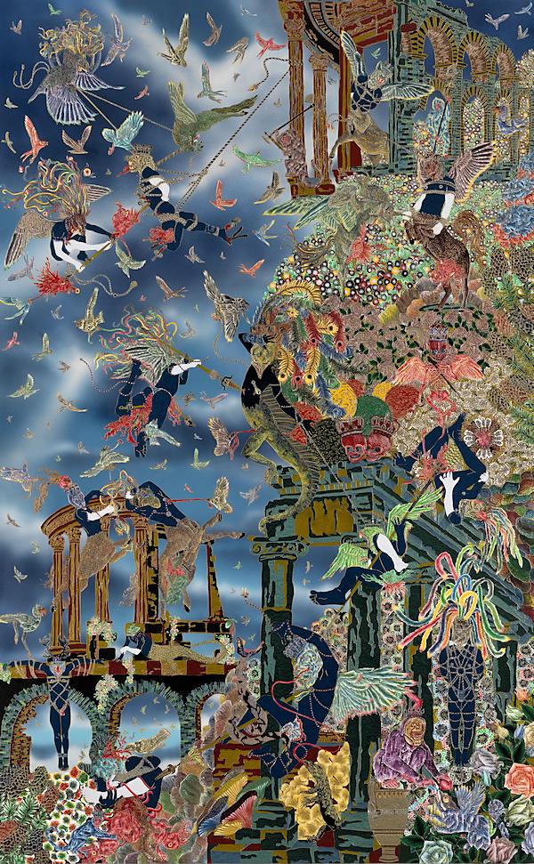 Raqib Shaw - Empty Kingdom - Art Blog