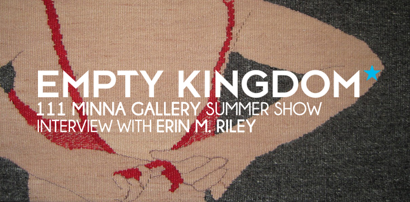 Erin M Riley - Empty Kingdom - Art Blog