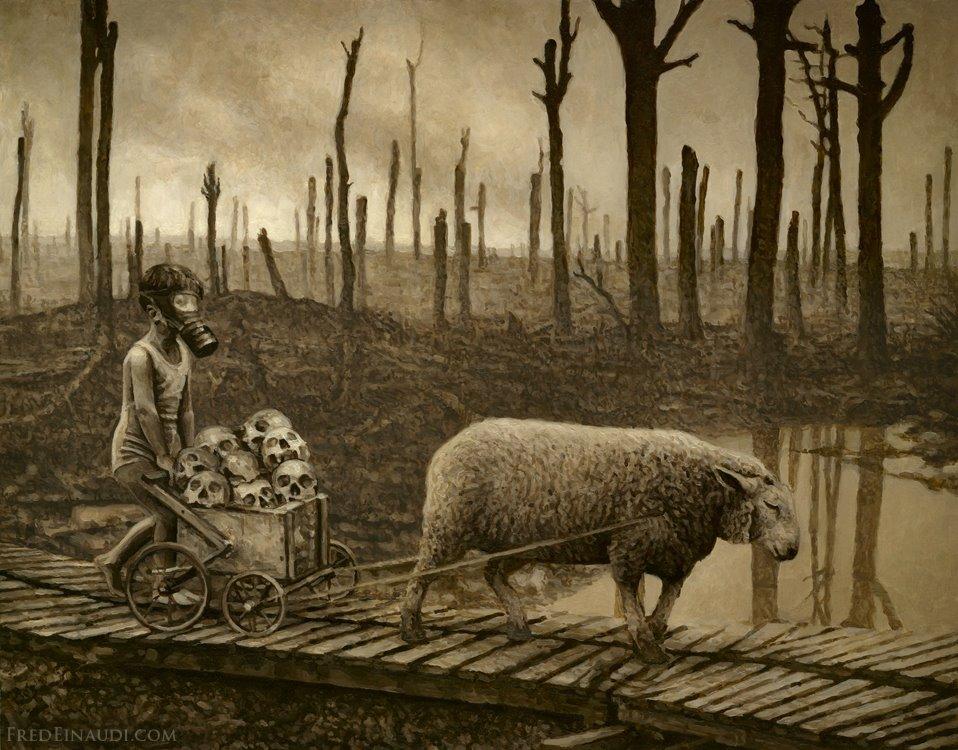 Fred Einaudi - Empty Kingdom - Art Blog