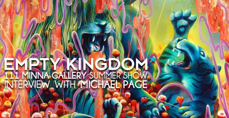 Michael Page - Empty Kingdom - Art Blog