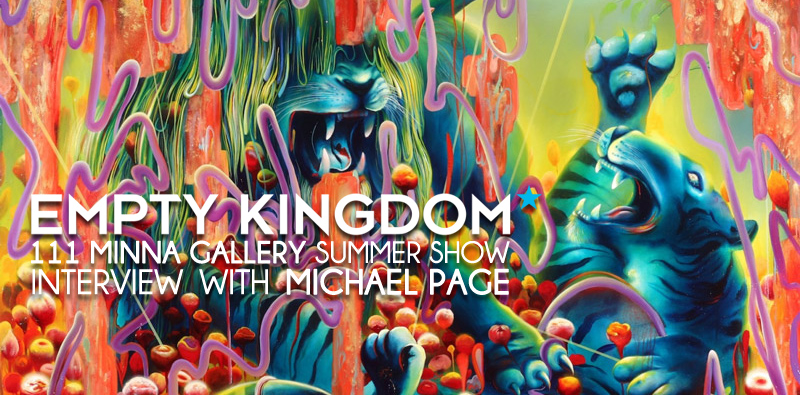 Michael Page - Empty Kingdom - Art Blog
