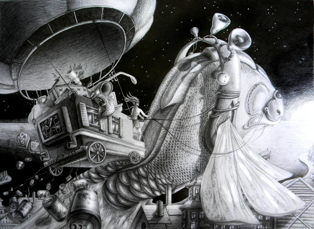 Lena Klyukina - Empty Kingdom - Art Blog