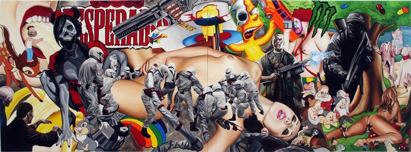 art blog - James Rawson - Empty Kingdom