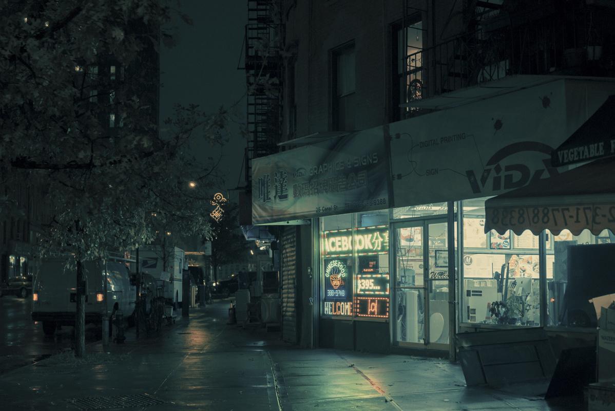 Icebook, Chinatown, Manhattan, NY, 2014